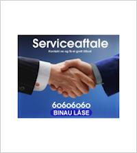 logo, serviceaftale